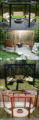 These Fire Pit Swing Sets Allow You to Enjoy a Gentle Swing, And Keeps You  Warm During Cold Nights... | Home | Pinterest | Swings