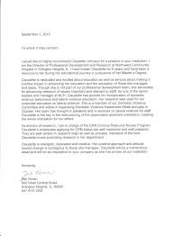 Recommendation Letter For A Colleague Free Cover Letter