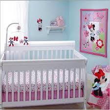 minnie mouse baby crib bedding set