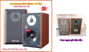 Loa Karaoke Arirang AR-III 1,6 tấc, bass ấm, trelb sáng chuyên nghe nhạc