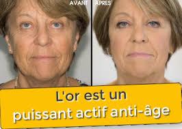 """Résultat de recherche d'images pour """"masque infusé d'or 24 anti age"""""""