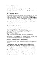 Examples Of Good Personal Statements examples of resumes very resumes for high school students