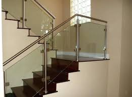 glass stair railing cost amazing glass stair railings best bedroom ideas on throughout glass stair
