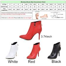 size 12 women boots meotina women boots ankle boots for women 2017 winter high heels