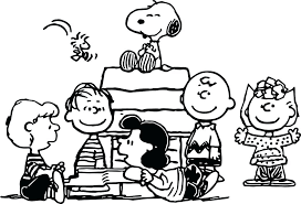 Snoopy Halloween Coloring Pages Medium Size Of Charlie Brown