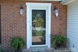 front door lightsFront door lights