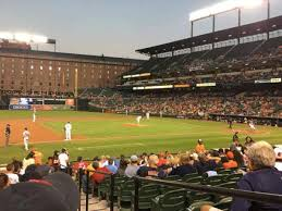 Baltimore Orioles Camden Yards Seating Chart Oriole Park At Camden Yards Section 56 Home Of Baltimore