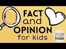Fact Vs Opinion Anchor Chart Fact Or Opinion For Kids Youtube