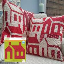 66 best Pillows, Pillows and more Pillows! images on Pinterest ... & Get The @AccuQuilt GO! Schoolhouse Die. Make small projects or full size  quilts Adamdwight.com