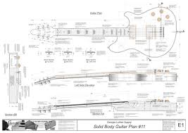 solid body electric guitar plans 11 electronic version wolfgang solid body electric guitar plans 11 electronic version