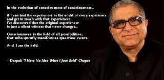 Deepak Chopra Quote Generator