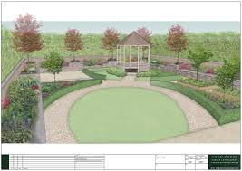 Small Picture Large Rural Garden Design Owen Chubb Garden Landscapers