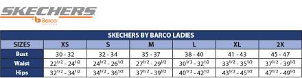 Skechers Sizing Chart