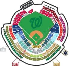 Qualcomm Seating Map Nationals Park Seating Chart With Seat