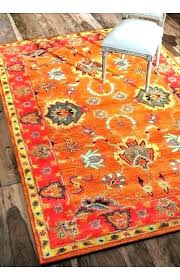 autumn rug orange area rugs multi off burnt round a