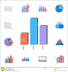 3d Bar Chart Icon Detailed Set Of Charts Diagramms Icons