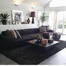 Opulent Black Sofas Living Room Design Best 25 Sofa Ideas On