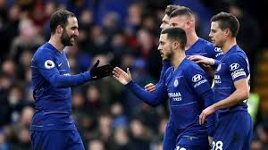 Manchester city can wrap up their fifth premier league title by beating chelsea, who they now also face in the uefa champions league final on 29 may. Man City Vs Chelsea What We Can Achieve Together With Gonzalo Higuain Hazard We Break The News As The Events Unfold
