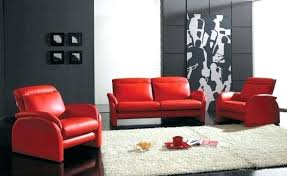 red and grey walls living room with furniture ideas leather dark gray bright cabinets sofa what