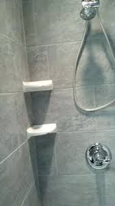 Telescopic Shower Corner Shelves Delectable Stone Shower Shelf Corner Shelves Bathroom Foccoe Rotheroeco