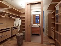 Walk In Closet Furniture Walk Through The Closet To Get Bathroom In Furniture L