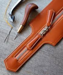 make unique leather goods one detail at a time