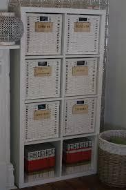 set of 6 wooden organisation labels basket labels perfect for a nursery