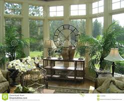 Sun Room Furnished Sunroom Royalty Free Stock Image Image 3569996