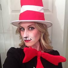 women s cat in the hat make up with pallet accessories from party city