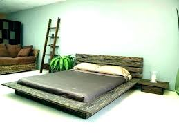Low Platform Bed King Low Platform King Bed King Bed Frames Low King ...