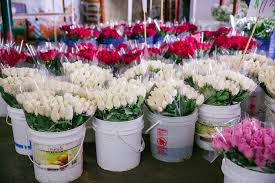 inside the los angeles flower market