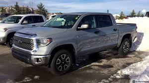 2018 Toyota Tundra Crew Max TRD Off Road in Cement Grey - YouTube