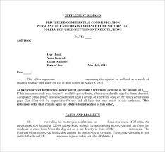 Settlement Demand Letter Template PDF Free Download