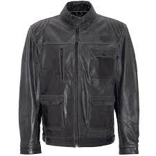 king kerosin biker leather jacket blanko black