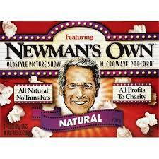 2 Pack) Newman's Own Natural Microwave Popcorn 10.5 Ounce - Walmart.com -  Walmart.com