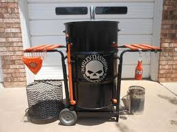 ugly drum smoker harley davidson theme d i y projects