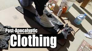 Post-Apocalyptic Cosplay | Making The Clothing - YouTube