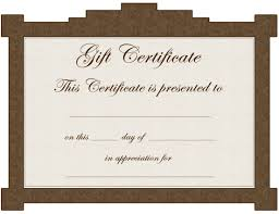 free editable gift certificates exle for free new tattoo gift certificate template free clip art