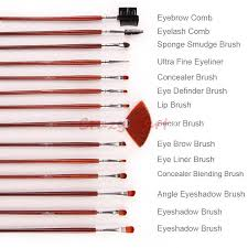 their uses buzzle professional brush set 24pcs for salon use makeup brushes tools with waist belt leather bag in