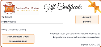How To Make A Gift Certificate Gift Certificate