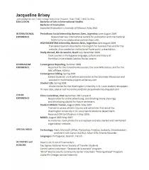 Double Major On Resume Resume Template Free