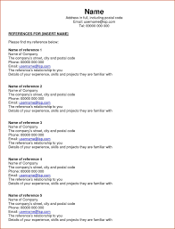 Reference Page Job 3 Resume Examples How Write A Photo Sa For