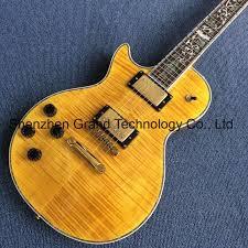 china diy guitar kit flamed maple top lp standard 1959 r9 left handed electric guitar glp 317 china guitar acoustic guitar