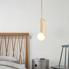 mid century modern 1 light bower pendant light in brass for kitchen island restaurant pendants