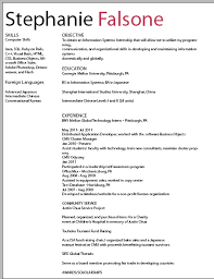 example of simple resume format pdf example of simple    resume improved