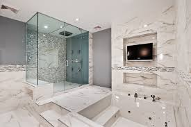 bathroom remodeling modern bathroom dc metro by topnotch rh houzz com sunken bathroom steps visual potty