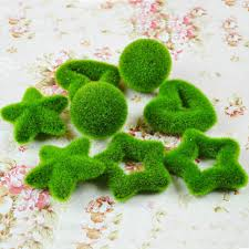 Decorative Moss Balls 60Pcs Wholesale Rustic Artificial Fresh Moss Balls Decorative Green 49