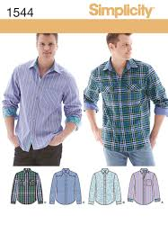 Mens Shirt Patterns
