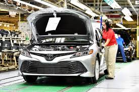 2018 toyota electric. Wonderful Electric 2018 Toyota Camry Georgetown Kentucky Production Line  Image In Toyota Electric