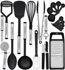 kitchen utensils images. Kitchen Utensil Set - 23 Nylon Cooking Utensils With Spatula Gadgets Images